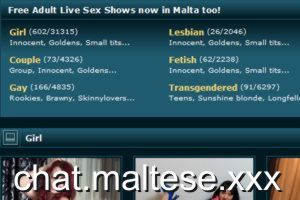 Live sex shows for residents in Malta!